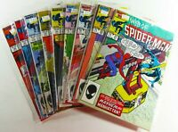 Marvel WEB OF SPIDER-MAN (1986) #21-27 29 30 BLACK SUIT VF to NM LOT Ships FREE
