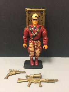 1992 GI JOE GENERAL HAWK v2 Talking Battle Commanders Hasbro ARAH Vintage