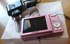 SAMSUNG fotocamera digitale ES55 digital camera 10.2 LCD ISO 1600 + custodia