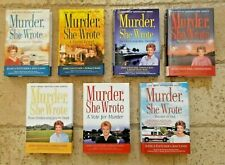 Murder She Wrote Lot of 7 Pre-owned Hardcovers by Fletcher and  Bain