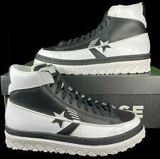 Converse Rivals Pro Leather X2 Hi Top Sneaker 168694C 8 Men (9.5 Women) BLACK