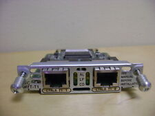 GENUINE CISCO VWIC-2MFT-T1 2 PORT RJ48 TRUNK INTERFACE MODULE NETWORK VOICE CARD