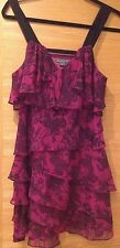 WOMENS ARMANI EXCHANGE SILK COCKTAIL DRESS SIZE 8