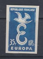FRANCE NON DENTELE  N*  YT 1174 35f europa 1958  COTE 80€ env