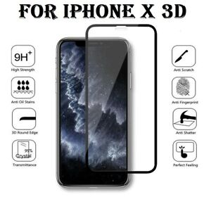Screen Protector For Apple iPhone X -Tempered Glass 100% Genuine