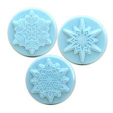 Snowflakes Soap Mold. Melt & Pour, Cold Process w/Instructions