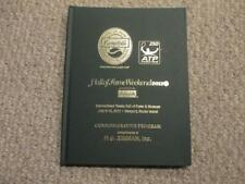 2012 Tennis Hall of Fame Commemorative Program Limited Edition Hard Cover