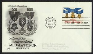 #2045 20c Medal of Honor, Art Craft-Add FDC **ANY 4=FREE SHIPPING**