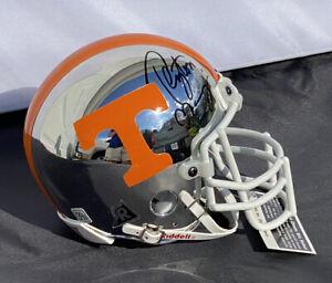 Peyton Manning 294/2k SIGNED Tennessee Volunteers College Mini Football Helmet