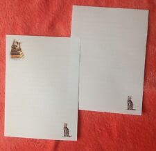 The Bookshelf Cat letter writing paper set with matching envelopes