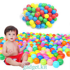 50pcs Multi-Color Cute Kids Play Balls Toy for Ball Pit Swim Pit Ball Pool WH6K
