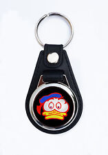 BARRY SHEENE DUCK FAUX LEATHER KEY ANELLO / KEY FOB.ICONIC MOTORCYCLE RACER.RIP