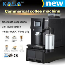 KASA Commercial Automatic Coffee Machine W/ Standby & Digital Display, 100 Cups