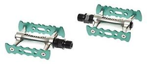Bianchi Bicycle Pedal Chromo Celeste JPPPC 089BC pair for sports bikes parts New