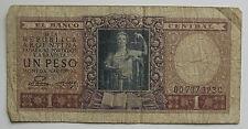 ARGENTINA . 1 PESO DE 1947 - CIRCULADO