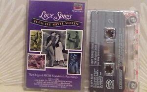 Silver Screen MGM Love Songs Gigi Stranger in Paradise + Cassette Tape - TESTED