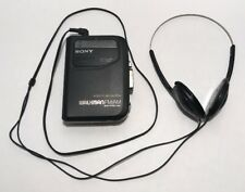 Sony Walkman AM FM Portable Cassette Player Radio WM-FX301 With Head Phones