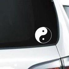 D106 Ying Yang Clipart Ying and Yang Circle vinyl decal car sticker