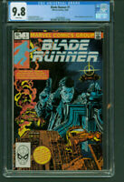 Blade Runner 1 CGC 9.8 white pages Marvel Comics 1982