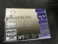 NEW Imation data Cartridge DDS4 DAT40 20GB/40GB DDS-150S