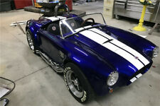 AC Cobra Shelby Go Kart Cart Fiberglass body Classic Blue w/White stripes