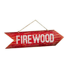 "Dept 56"" Wooden Firewood Sign""  4043497 New"