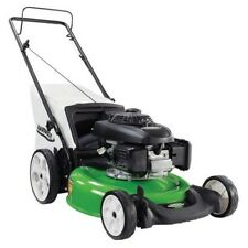 Walk Behind Push Lawn Mower Gas 21 Inch 160cc High Wheel Bag Grass Cutter Honda