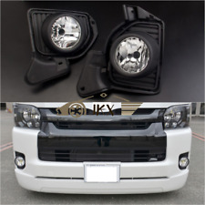 Driving Fog Lamps Fog Lights &Wiring For TOYOTA Hiace 200 Commuter Van 2014-2017
