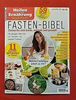 Heilen mit Ernährung Sonderheft 1/2021 Fasten Bibel NEU