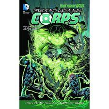 DC Comics Green Lantern Corps Vol. 02 Alpha War Hardcover Graphic Novel