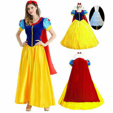 Snow White Costume  Woman Dress Set for Halloween Cosplay Party Adult Size