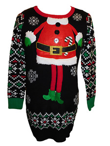 CORAFRITZ Womens Casual Christmas Santa Claus//Tree Print Sweatshirt Christmas Crew Neck Sweater Long Sleeve Fashion Printed Pullover Blouse T-Shirt Tops