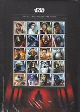 GREAT BRITAIN 2017 STAR WARS ULTIMATE COLLECTORS SHEET  UNMOUNTED MINT, MNH