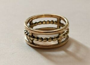 Vintage Band Ring In 14k Yellow Gold