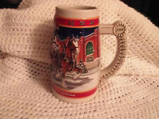1999 Budweiser Holiday A Century in Tradition Beer Stein Mug
