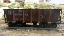 Roundhouse MDC HO Conrail Modern Low Side Ore Car, Upgraded, excellent