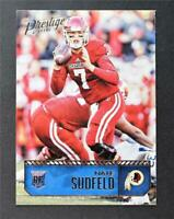 2016 Prestige #210 Nate Sudfeld RC - NM-MT