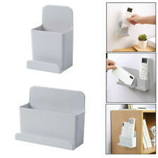 Wall Mounted TV Air Conditioner Remote Control Holder Hanger Phone Storage Rack