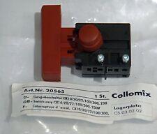 Schalter Collomix CX10 CX20 CX22 DUO CX100   20565