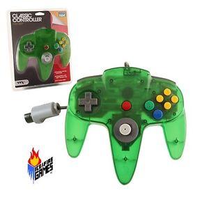 New Jungle Green N64 Gamepad Controller (Nintendo 64)