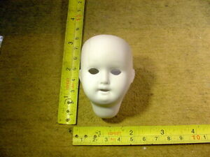excavated bisque swivel doll head walter & sohn with hairline age 1900 Art 13916