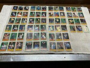 1981 DONRUSS GOLF PGA TOUR 66 CARD COMPLETE SET JACK NICKLAUS ROOKIE #13