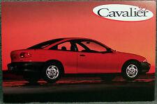 POSTCARD ~ 1995 CAVALIER COUPE ~ ORIGINAL