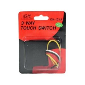 Touch Lamp Control Replacement Sensor Repair Conversion Kit For 3 Way Lamps