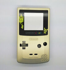 Picacho Gold Color Full Housing Shell for Nintendo Game boy Color GBC OEM
