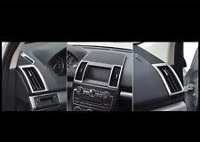 6pcs Interior Air Vent Outlet Frame Cover For Land Rover Freelander 2 2011-2015