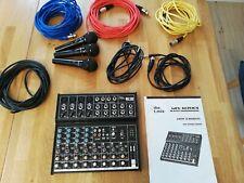 the t.mix mix 1202 Mischpult - inklusive 3 Mikrofone und Kabelzubehör
