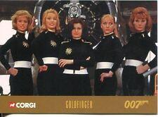 James Bond Corgi Cars Exclusive Trading Card #10 Goldfinger