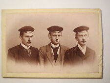 Oldenburg - 3 pupils? with Hats-PV Camera Obscura? CDV/studentika