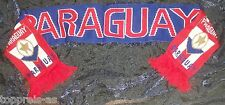 SCHAL PARAGUAY  FANSCHAL FUßBALL WM FAN SCHAL FAHNE FLAGGE FLAG SCARF BANDERA
